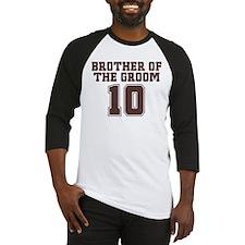 Uniform Groom Brother 10 Baseball Jersey