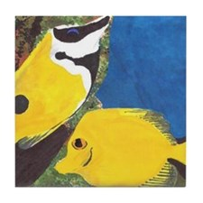 Tropical Fish Tile Coaster