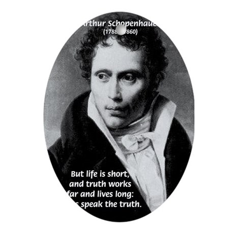 Speaking Truth, Schopenhauer Oval Ornament