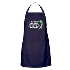 A Bad Day Golfing Apron (dark)