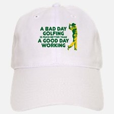 A Bad Day Golfing Baseball Baseball Cap