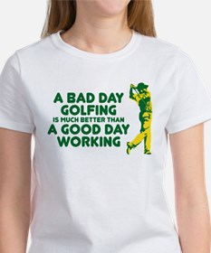 A Bad Day Golfing Tee
