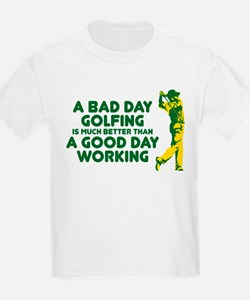 A Bad Day Golfing T-Shirt