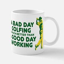 A Bad Day Golfing Small Small Mug