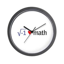 Cute Math square root Wall Clock