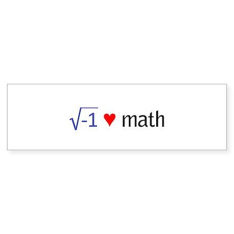 math2 Bumper Sticker