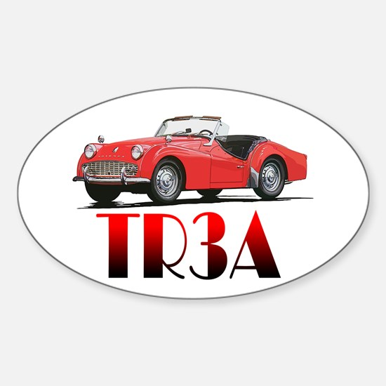 The TR3A Sticker (Oval)