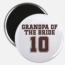 "Uniform Bride Grandfather 2.25"" Magnet (10 pack)"