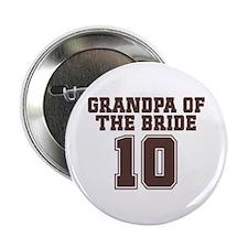 """Uniform Bride Grandfather 2.25"""" Button"""