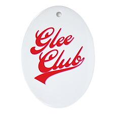 Glee Club Ballpark Ornament (Oval)