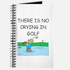 golfing gifts Journal