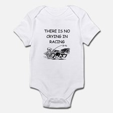 harness racing gifts Infant Bodysuit