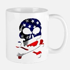4th of July Skull Mug