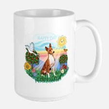 Happy Day Basenji Mug