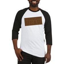 Chocolate Bear Baseball Jersey