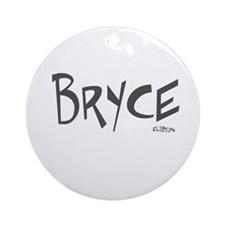 Bryce Ornament (Round)