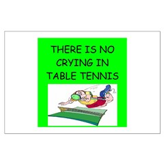 table tennis gifts Posters