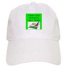 table tennis gifts Baseball Cap