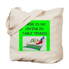 table tennis gifts Tote Bag