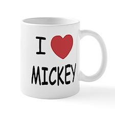 I heart Mickey Small Mug
