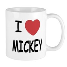 I heart Mickey Small Mug