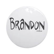 Brandon Ornament (Round)