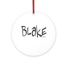 Blake Ornament (Round)