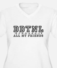 Backwards Down The Numberline T-Shirt