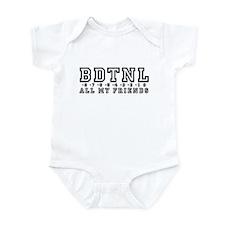 Backwards Down The Numberline Infant Bodysuit