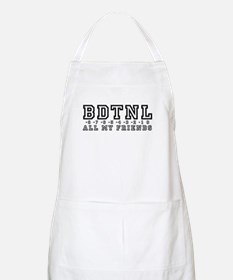 Backwards Down The Numberline Apron