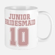 Pink Junior Bridesmaid 10 Mug