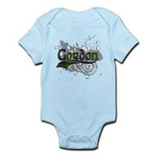 Gordon Tartan Grunge Infant Bodysuit