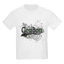 Gordon Tartan Grunge T-Shirt