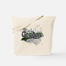 Gordon Tartan Grunge Tote Bag