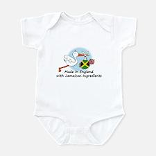 Stork Baby Jamaica England Infant Bodysuit