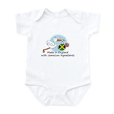 Stork Baby Jamaica England Onesie