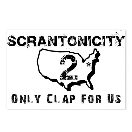 Scrantonicity 2 Only Clap For Postcards (Package o