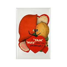 Vintage Valentine Rectangle Magnet