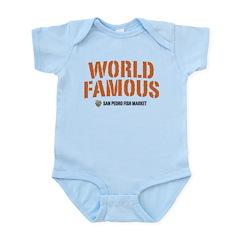 WORLD FAMOUS Infant Bodysuit