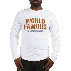 WORLD FAMOUS Long Sleeve T-Shirt