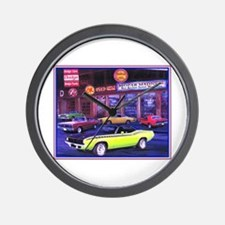 Mopar Madness Car Dealer Wall Clock