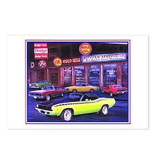 Mopar Madness Car Dealer Postcards (Package of 8)