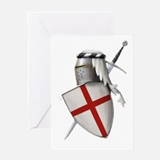 Shield of Saint George Greeting Card