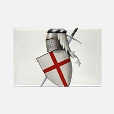 Shield of Saint George Rectangle Magnet