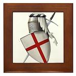Shield of Saint George Framed Tile