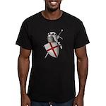 Shield of Saint George Men's Fitted T-Shirt (dark)