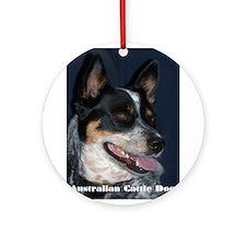 2 Dingos Ornament (Round)