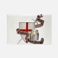 England and Saint George Rectangle Magnet