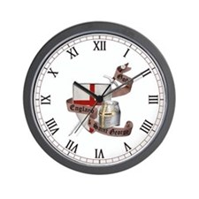 England and Saint George Wall Clock
