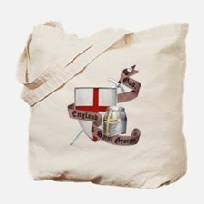 England and Saint George Tote Bag